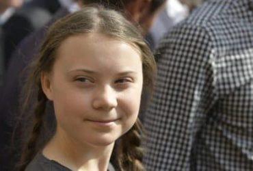 Portrait de Greta Thunberg , la jeune écologiste suédoise