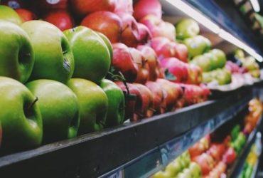 Des produits frais dans un supermarché