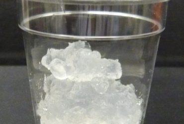 Processus de formation de la nanocellulose dans un verre en laboratoire