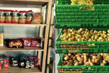 Des produits alimentaires à l'Agoraé de Paris