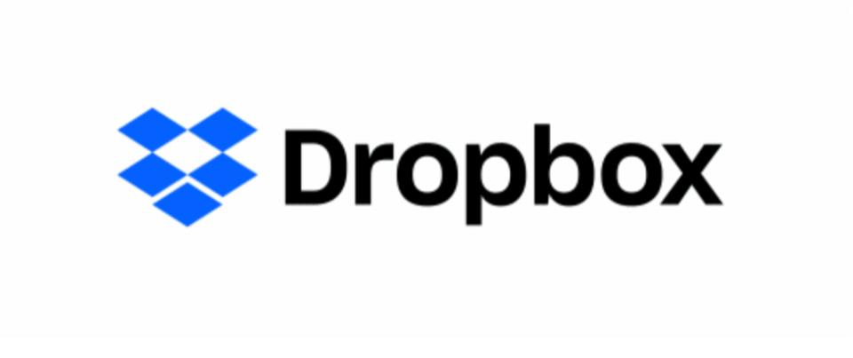 Logo de Dropbox.