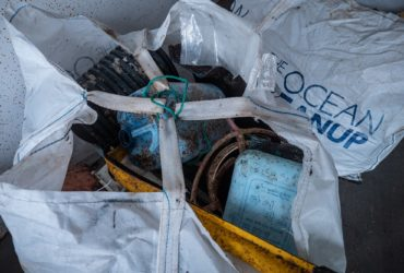Des déchets récoltés par The Ocean CleanUp (Photo : The Ocean CleanUp).