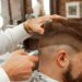 Un salon de coiffure, au New Jersey (Etats Unis).